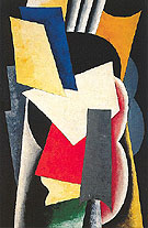Still Life with Instruments - Lyubov Popova