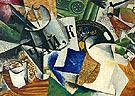 Still Life with Tray 1921 - Lyubov Popova