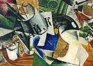 Still Life with Tray 1921 - Lyubov Popova