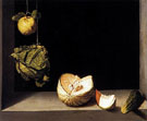 Quince Cabbage Melon and Cucumber 1602 - Juan Sanchez Cotan