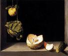 Quince Cabbage Melon and Cucumber 1602 - Juan Sanchez Cotan