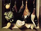 Still Life with Game Fowl c1600 - Juan Sanchez Cotan