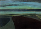 Sea in The Twilight 1925 - Leon Spilliaert