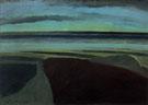 Sea in The Twilight 1925 - Leon Spilliaert