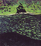 Sailing Vessel at Sea 1920 - Leon Spilliaert