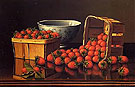 Strawberries with Porcelain Bowl - Levi Wells Prentice