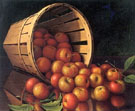 Apples Tumbling from a Basket - Levi Wells Prentice