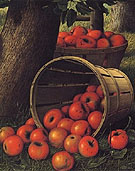 Bushels of Apples 1892 - Levi Wells Prentice