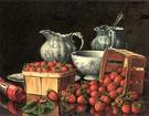 Baskets of Strawberries - Levi Wells Prentice