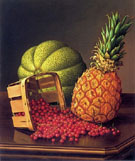 Tabletop Still Life with Fruit - Levi Wells Prentice