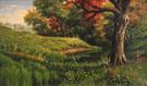 An Early Autumn Landscape 1886 - Levi Wells Prentice