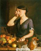 Peeling Onions 1852 - Lilly Martin Spencer
