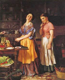 The Young Wife First Stew - Lilly Martin Spencer