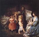 War Spirit at Home - Lilly Martin Spencer
