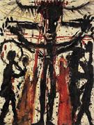 Crucifixion Kreuzigung - Louis Soutter