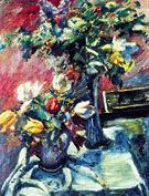 Lilac and Tulips 1922 - Lovis Corinth