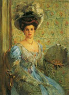 Portrait of Countess Finkh - Lovis Corinth