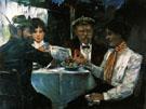 In Max Halbes Garden 1899 - Lovis Corinth