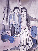 Two Sisters with a Cello 1913 - Marie Laurencin