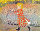 Child in a Red Dress 1898 - Maurice Denis