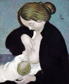 Mother and Child 1895 - Maurice Denis