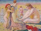 Plage Enfant au Bonnet Rouge 1909 - Maurice Denis