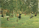 Children Playing - Max Liebermann