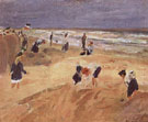 The Beach at Nordwijk 1908 - Max Liebermann