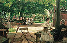 Beer Garden in Leiden - Max Liebermann