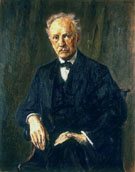 Portrait Richard Strauss 1918 - Max Liebermann