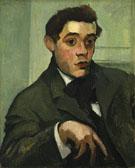 Portrait of Abraham Walkowitz - Max Weber