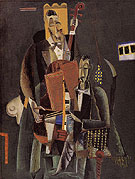 Two Musicians 1917 - Max Weber