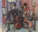 The Cellist - Max Weber
