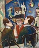 Joels Cafe c1909 - Max Weber