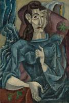 Imaginary Portrait of a Woman 1913 - Max Weber