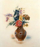 Vase of Flowers 1917 - Max Weber
