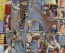 Acrobats 1946 - Max Weber