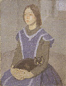 Girl with Cat 1918 - Gwen John