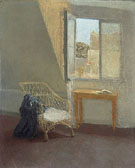 A Coner of The Artist Room in Paris 1907 - Gwen John