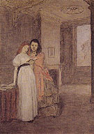 Interior with Figures 1898 - Gwen John