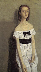 Girl with Bare Shoulders 1909 - Gwen John