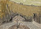 Terrace in Moonlight Meudon c1925 - Gwen John