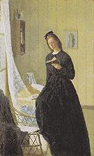 Reading at The Window 1911 - Gwen John