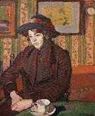 Girl with a Tea Cup c1914 - Harold Gilman