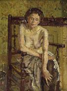 Clarissa c1911 - Harold Gilman