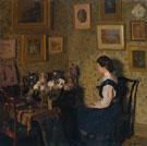 Edwardian Interior c1900 - Harold Gilman