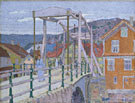 Canal Brige Flekke Fjord c1913 - Harold Gilman