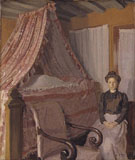 French Interior c1905 - Harold Gilman