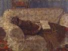 Lady on a Sofa Exhibited 1910 - Harold Gilman