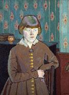 Miss Ruth Doggett c1915 - Harold Gilman